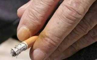 Почему пожелтели пальцы на руках