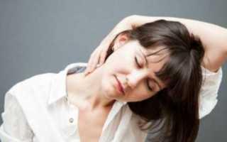 Симптомы приступа остеохондроза