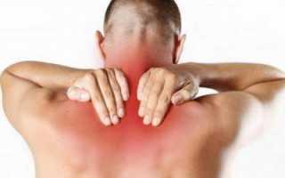 Сводит шею справа и болит голова