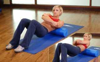 Эффективные упражнения с валиком для спины, критерии выбора изделия