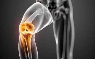 Блок коленного сустава у ребенка