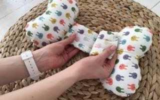 Подушка для новорожденных чтобы голова была ровная