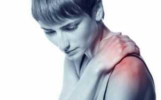 Хруст в плечевом суставе: причины, симптоматика, лечение