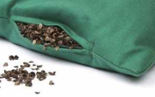 Польза и вред подушки с гречневой лузгой