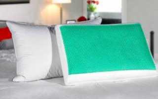 Как выбрать гелевую ортопедическую подушку