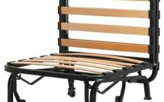 Кресло-кровать с ортопедическим матрасом для ежедневного использования