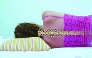 Здоровый и полноценный ночной отдых при шейном остеохондрозе: как правильно спать?