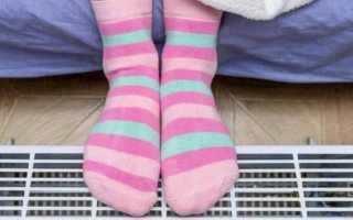 Почему мерзнут пятки на ногах