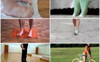 Поперечное плоскостопие, симптомы и лечение, фото