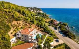 Где отдохнуть в греции: пять курортов полуострова халкидики