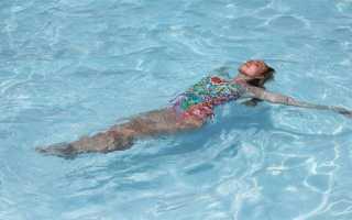 Упражнения в бассейне для позвоночника: плавание при остеохондрозе и грыже позвоночника
