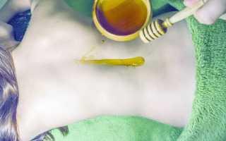 Медовый массаж спины: польза и вред