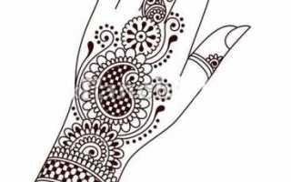 Как нарисовать руки человека поэтапно для начинающих