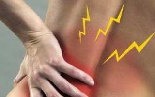 Боль вдоль позвоночника как лечить