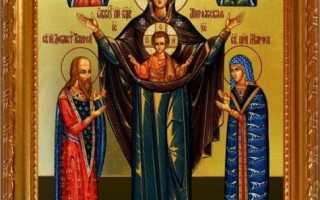 Описание и значение иконы богоматери оранта, о чем просят и текст молитвы