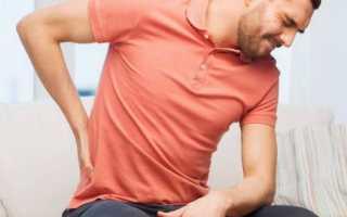 Боль в пояснице при аденоме простаты