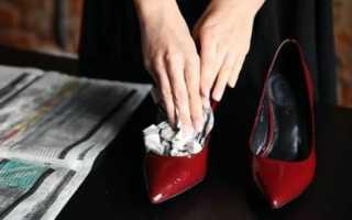 Лучшие способы растянуть лаковую обувь