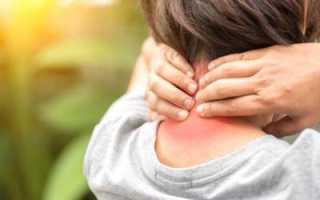 Хроническая боль в шее