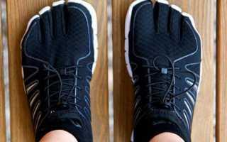 Лучшие модели кроссовок с пальцами, отзывы владельцев